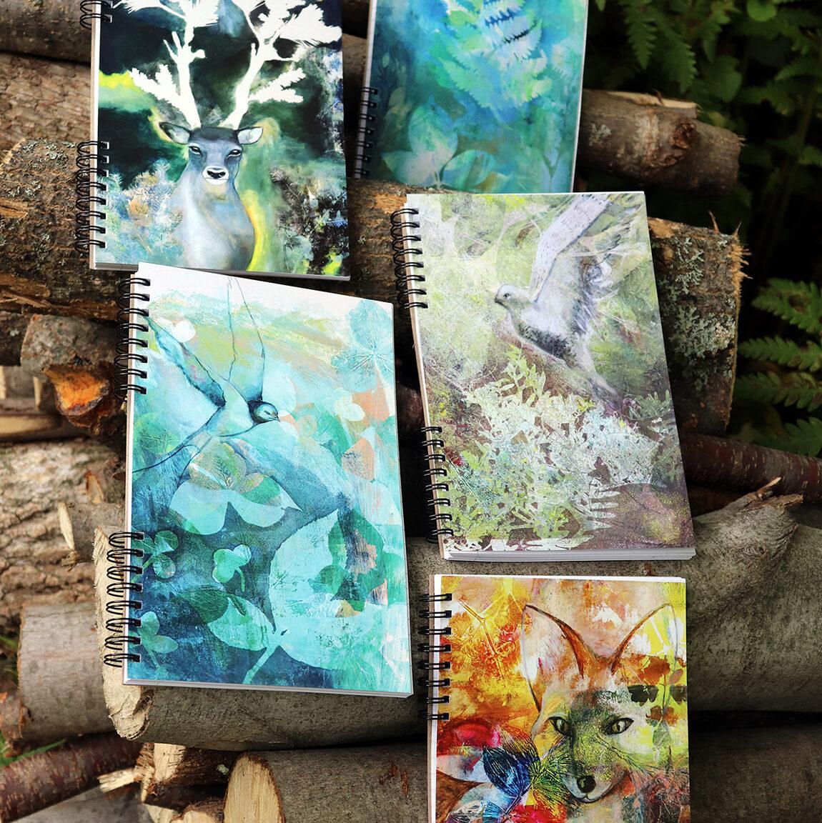 carnets-de-notes-etsy-artiste-peintre-carine-genadry-art-quebec