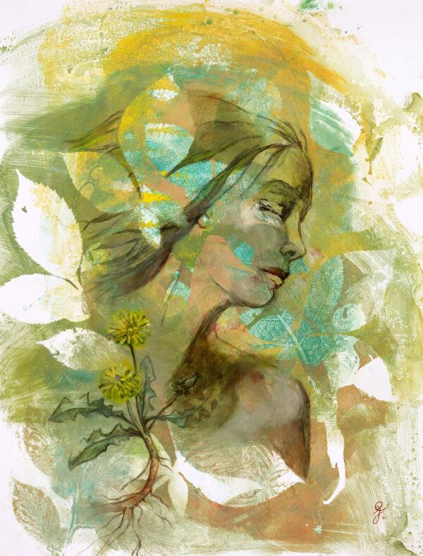 portrait-coeur-de-pissenlit-femme-artiste-peintre-carine-genadry