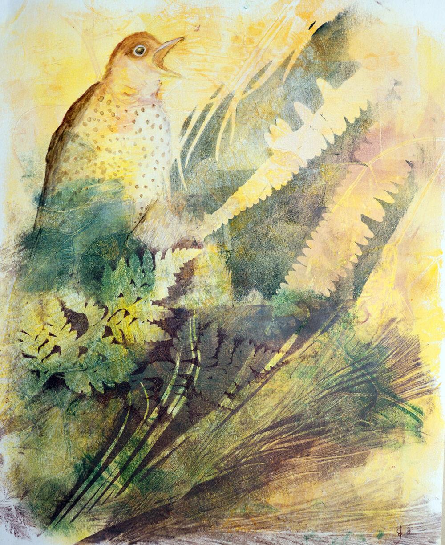 peinture-grive-musicienne-artiste-peintre-carine-genadry