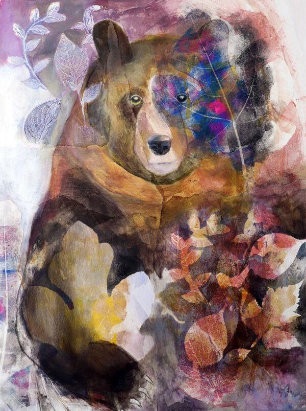 peinture-ours-romantique-artiste-peintre-carine-genadry