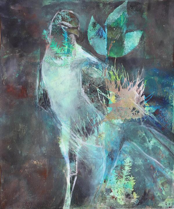 peinture-rapace-oiseau-artiste-peintre-carine-genadry