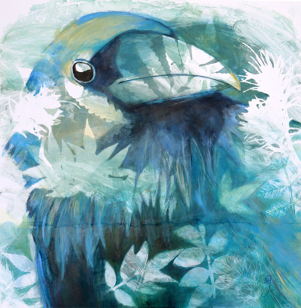 intuition-corbeau-artiste-peintre-carine-genadry