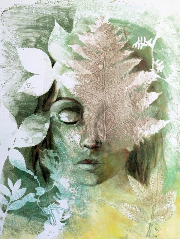 portrait-femme-nature-connexion-artiste-peintre-carine-genadry