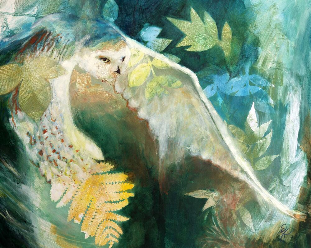 harfang-des-neiges-rêves-peinture-oiseau-artiste-peintre-carine-genadry